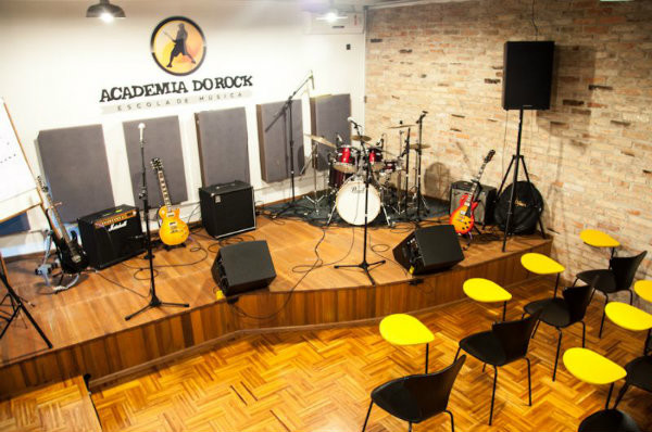 Rede de franquias Academia do Rock.
