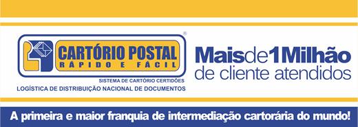 Franquia Cartório Postal.