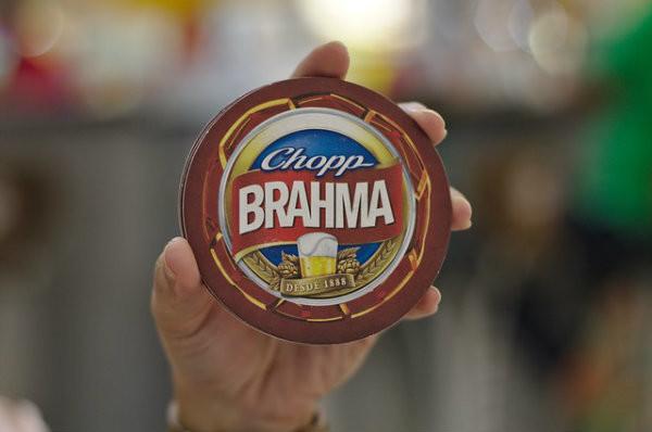 Franquia de carrinho de chopp Brahma.