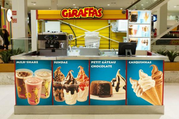Quiosque Giraffas.