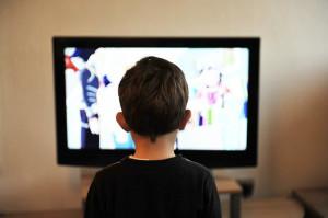 A tv como um meio midiático de massa.