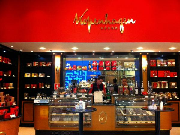 Franquia de chocolates kopenhagen